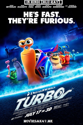 Download Turbo (2013) Hindi Dual Audio BRRip 480p 720p [Hindi + English] DD 5.1 | Full Movie Watch Online