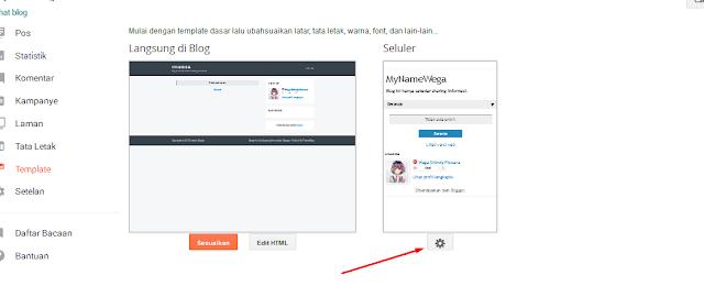 Cara Mengubah Template Blog Dengan Mudah