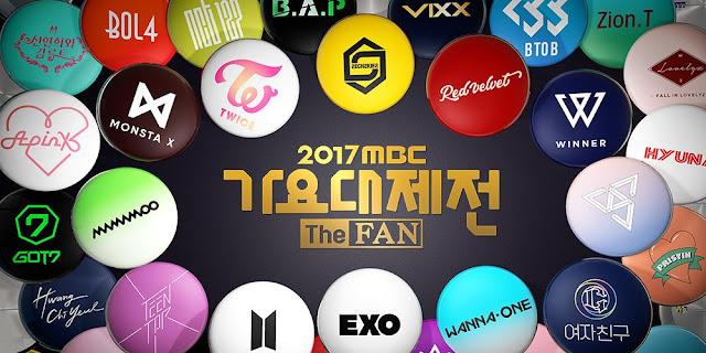 MBC Gayo Daejejeon 2017