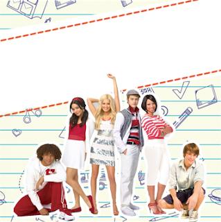Etiquetas de High School Musical para imprimir gratis.