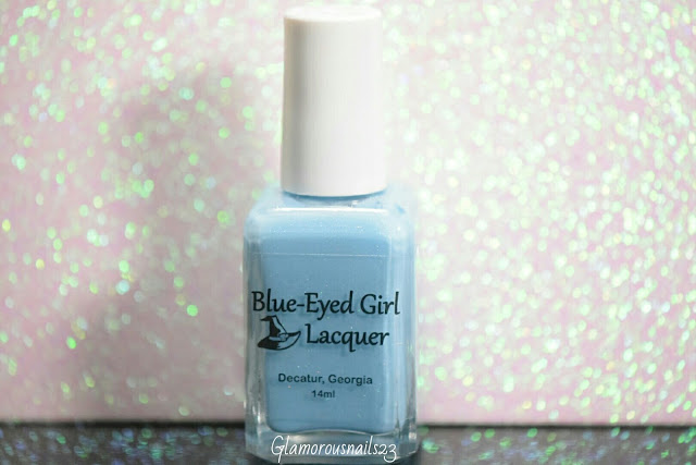 Blue-Eyed Girl Lacquer The Best Blaze