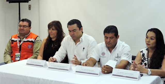 Hospital Regional Mérida del Issste actualiza su programa de protección civil