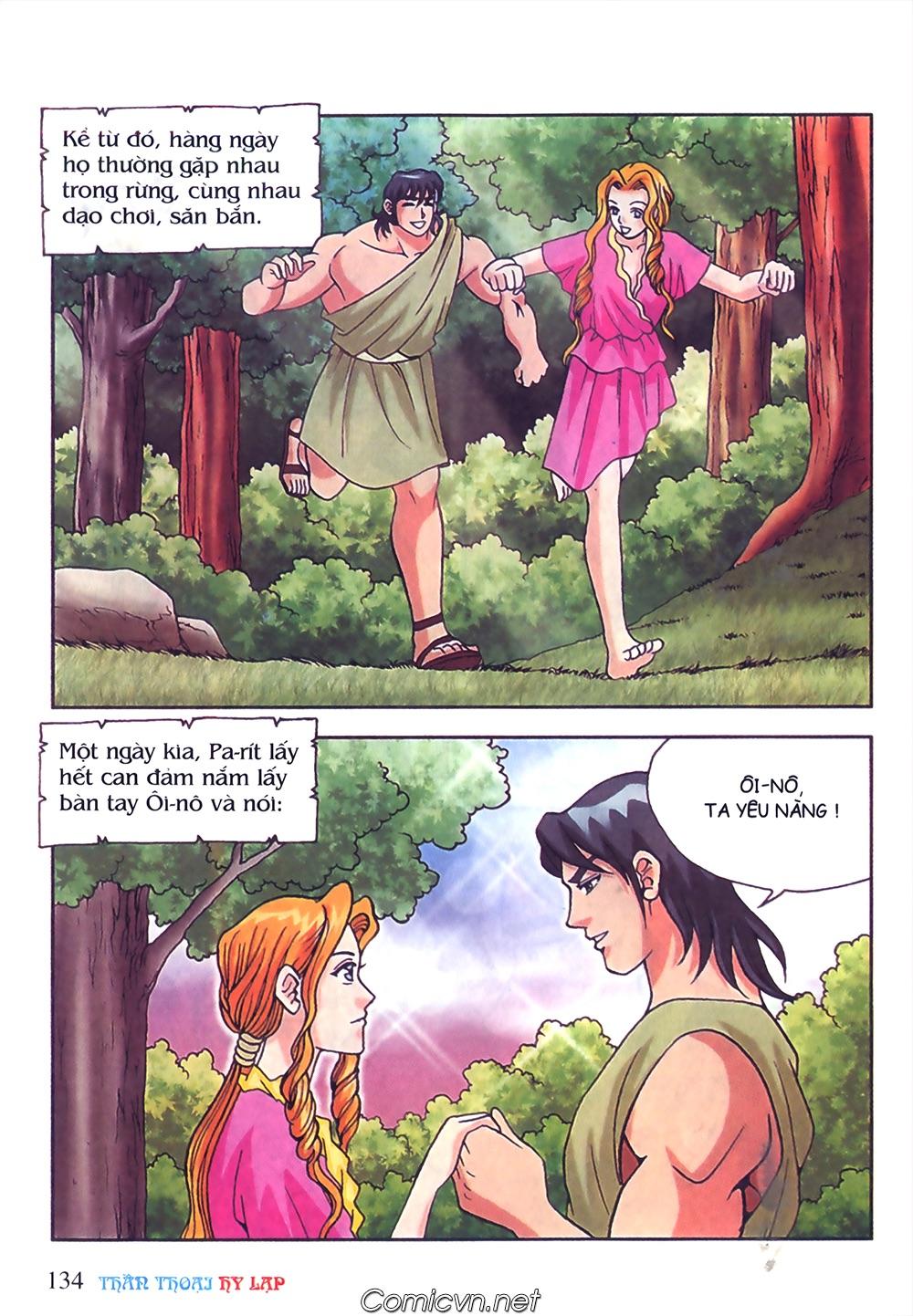 Thần Thoại Hy Lạp Màu - Chapter 50: Hoàng tử Pa rít - Pic 11