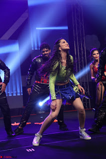 Sunny Leone Dancing on stage At Rogue Movie Audio Music Launch ~  125.JPG