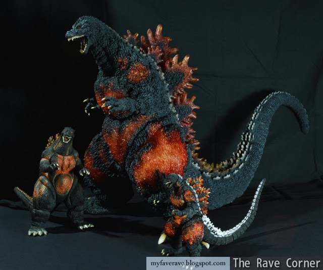 The Rave Corner X Plus Gigantic Series Godzilla 1995 Review