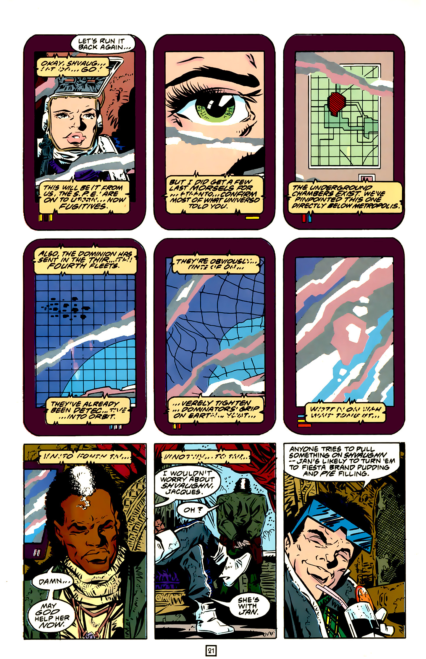 Legion of Super-Heroes (1989) 20 Page 21