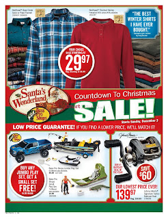 Bass Pro Shops Flyer Canada valid Desember 3 - 10, 2017