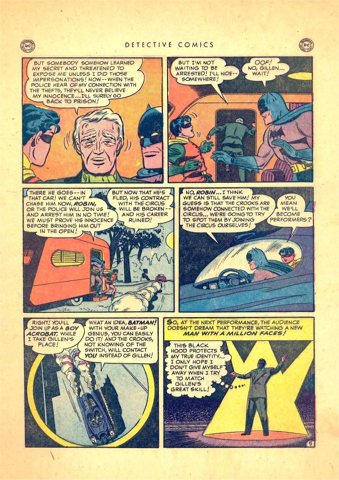 Read online Detective Comics (1937) comic -  Issue #166 - 7