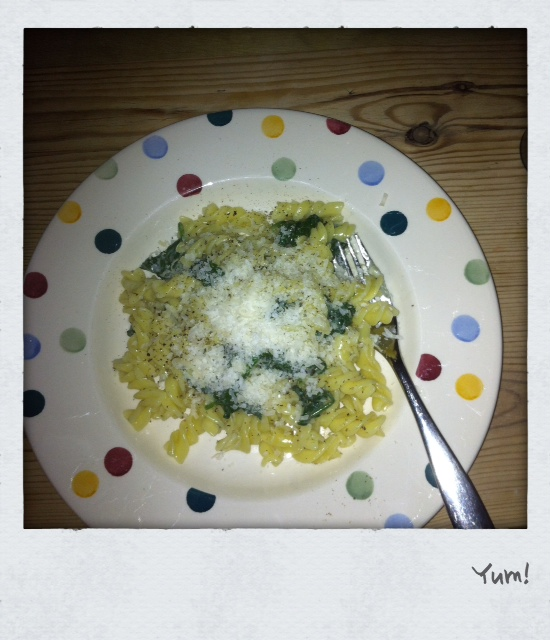 Notes From My Kitchen Table: Nigella's Green Pasta with ...