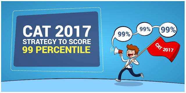 CAT 2017: Strategy to Score 99 Percentile