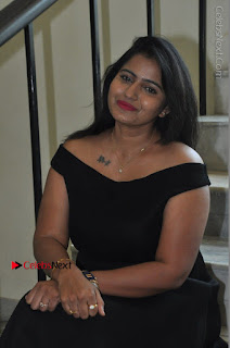 Telugu Actress Swathi Reddy Latest Stills in Black Gown  0071.JPG