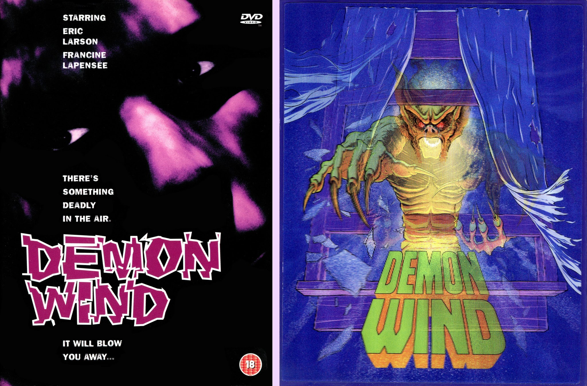 DVD Exotica: The Demon Wind Is Blowing! (DVD/ Blu-ray