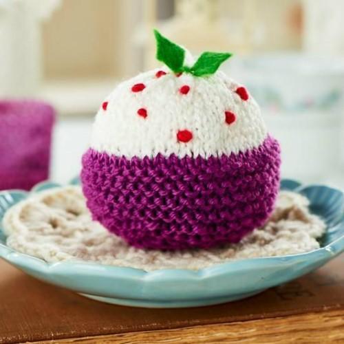 Plum Figgy Pudding - Free Pattern