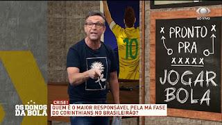Jogadores Do Corinthians Fogem Para Não Apanhar – Os Donos Da Bola – 14/09/2020 – Completo