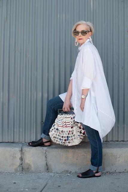 Summer Basics…The Oversized white shirt