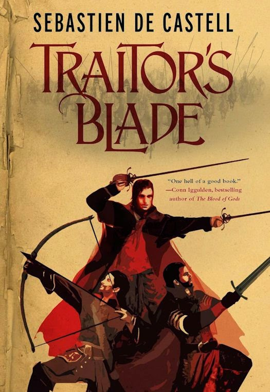 Interview with Sebastien de Castell, author of Traitor's Blade - July 15, 2014