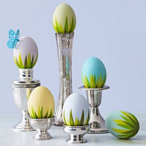 Easter eggs, Easter decoration, Easter centrepiece