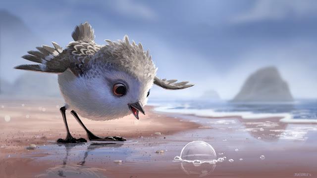 Primera imagen de 'Piper', el nuevo corto de Disney·Pixar