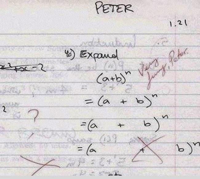 30 Hilarious Dumb Brilliant Exam Answers ~ Go4Pix