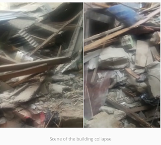 Just in: Four rescued from another Lagos building collapse