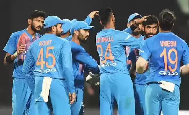 India vs West Indies 1st T20 2018