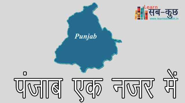 Brief Information of Punjab