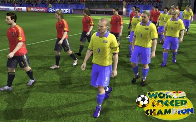 لعبة بطولة العالم فى كرة القدم World Soccer Champion اون لاين