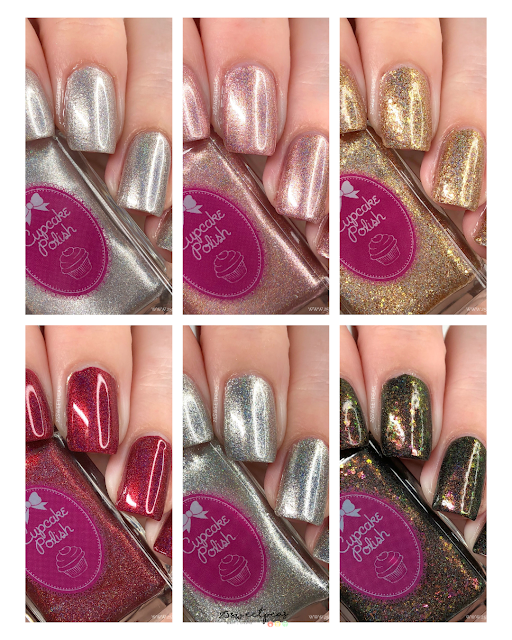 Cupcake Polish Pirate Collection Swatches