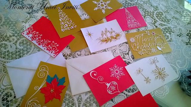 20 Cards d'auguri nataliziCard di Natale Nozze d'Inverno