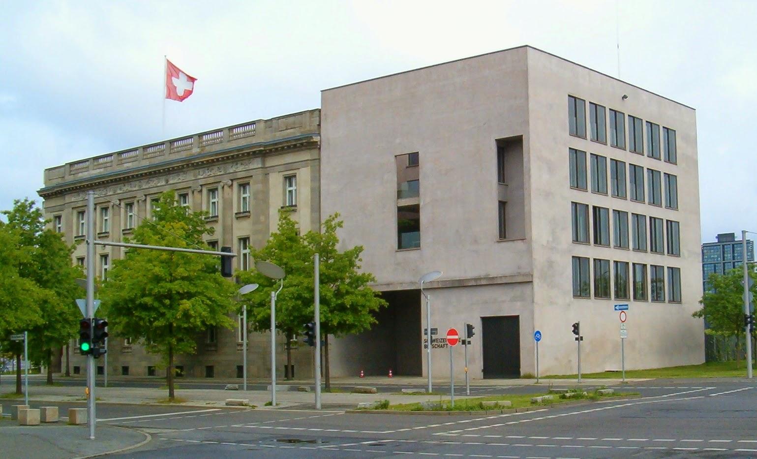 Schweizer Botschaft Frankfurt