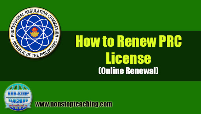 How to Renew PRC License (Online Renewal)