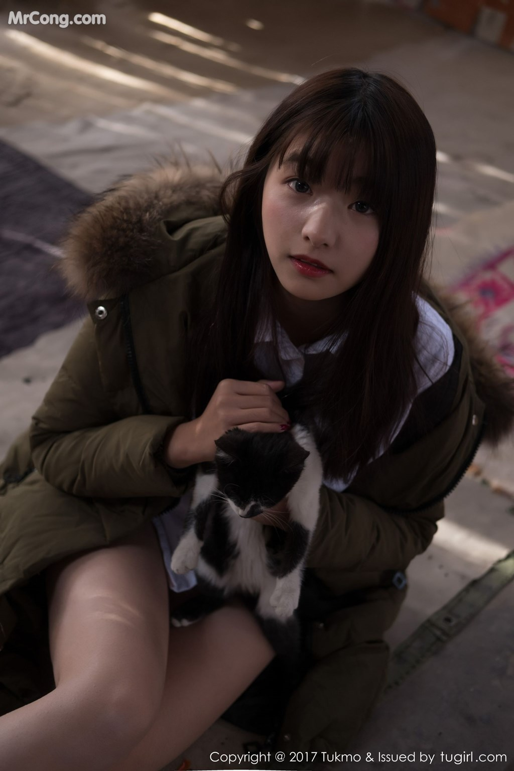 Image Tukmo-Vol.103-Qiu-Qiu-MrCong.com-004 in post Tukmo Vol.103: Người mẫu Qiu Qiu (球球) (43 ảnh)