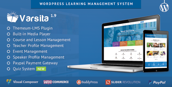 Varsita v2.0 - WordPress Learning Management System