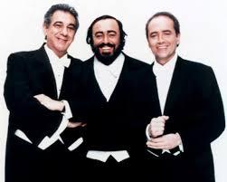 Luciano Pavarotti, Placido Domingo dan Jose Carreras