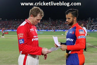 dd vs kxip live cricket score ipl t20 match 2016