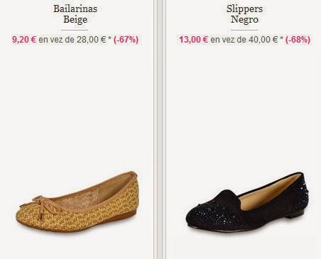 Modelos recomendados de bailarinas y slippers