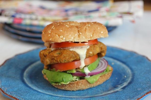 Amburguesa vegetariana - receta israelí