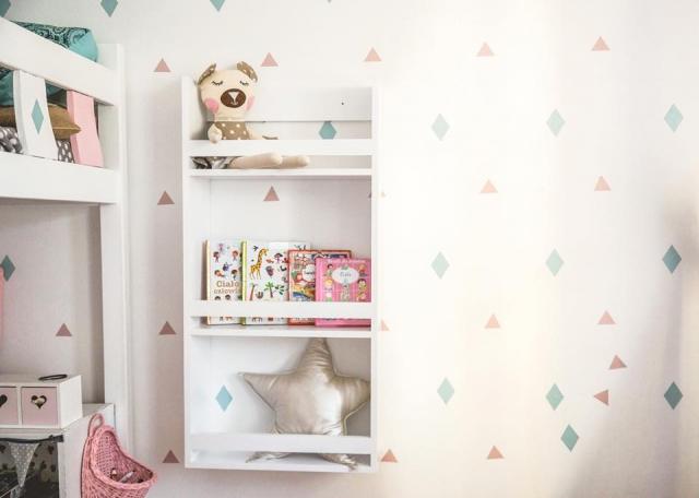 biblioteczka do pokoju dziecka