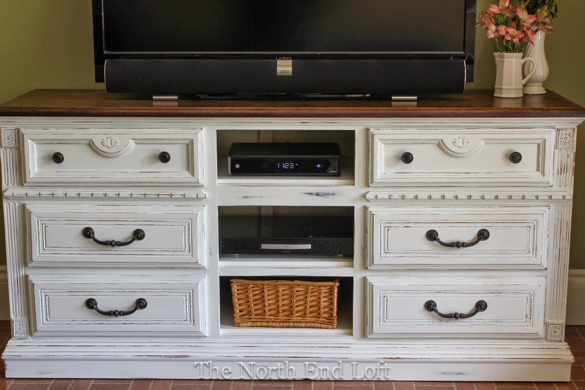 this house our home dresser turned tv stand part 2. Black Bedroom Furniture Sets. Home Design Ideas