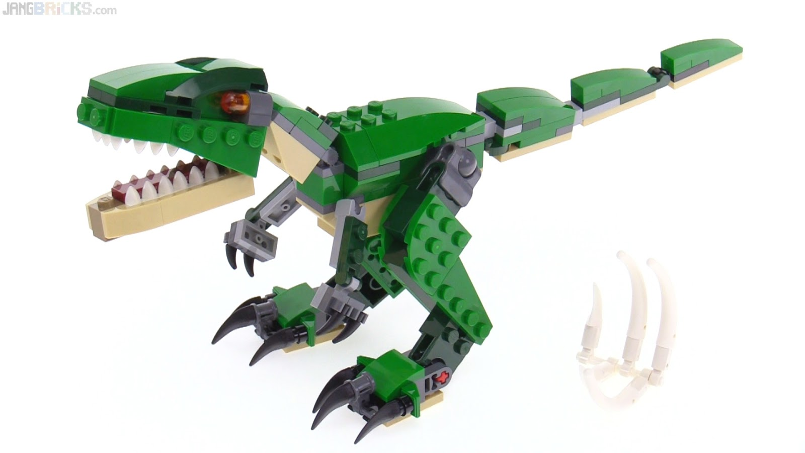 Lego creator 3 in 1 mighty dinosaurs review 31058 - Lego dinosaures ...