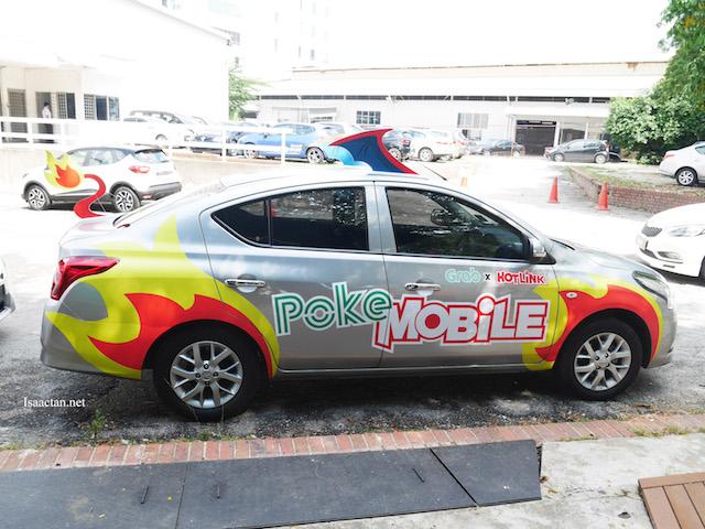 Pokemon GO - Grab Malaysia x Hotlink's PokeMobile