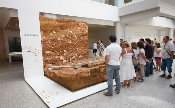 imagen_museo_burgos_evolucion_humana_excavación