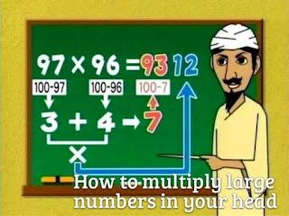 Cómo multiplicar números grandes en tu cabeza
