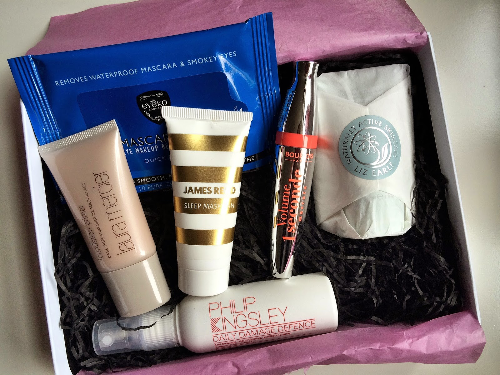 Glamour Beauty Box Bourjois Makeup