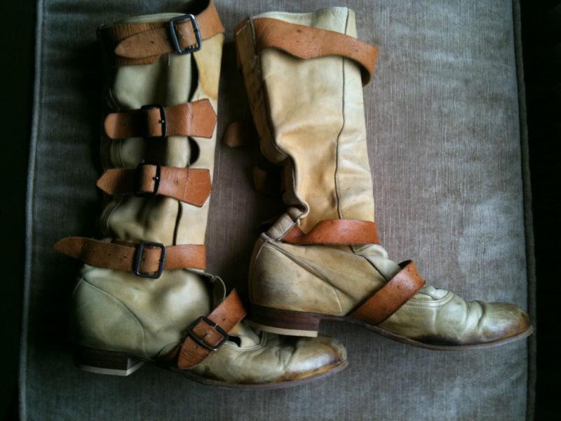 0c1004f29db90 Rare Original Vivienne Westwood Pirate Boots 1980s   Fashion Pearls ...