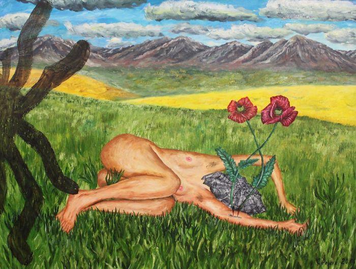 Казахский художник. Сергей Рощук
