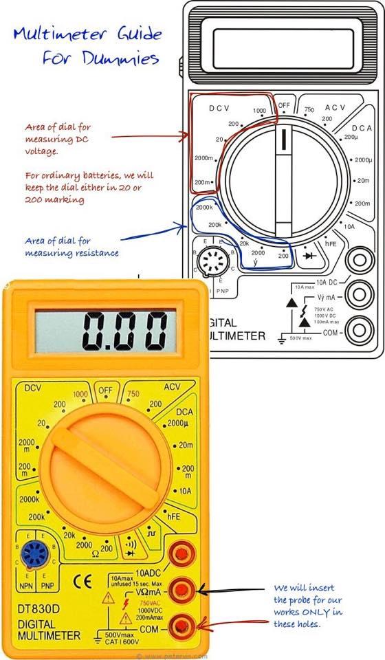 Multimeter Guide for Dummies | Electrical Engineering Blog