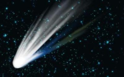 komet tata surya