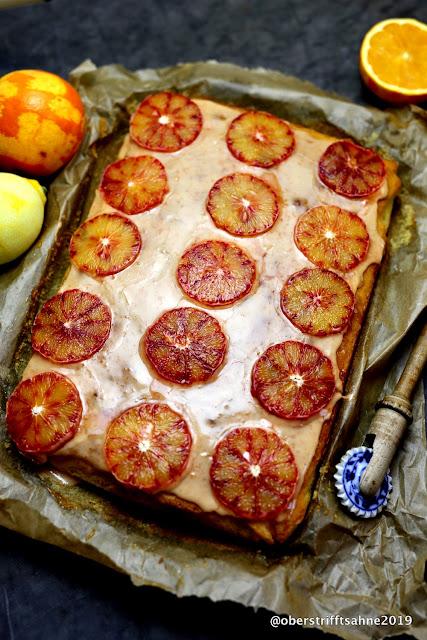 saftiger Rührkuchen mit Orangen
