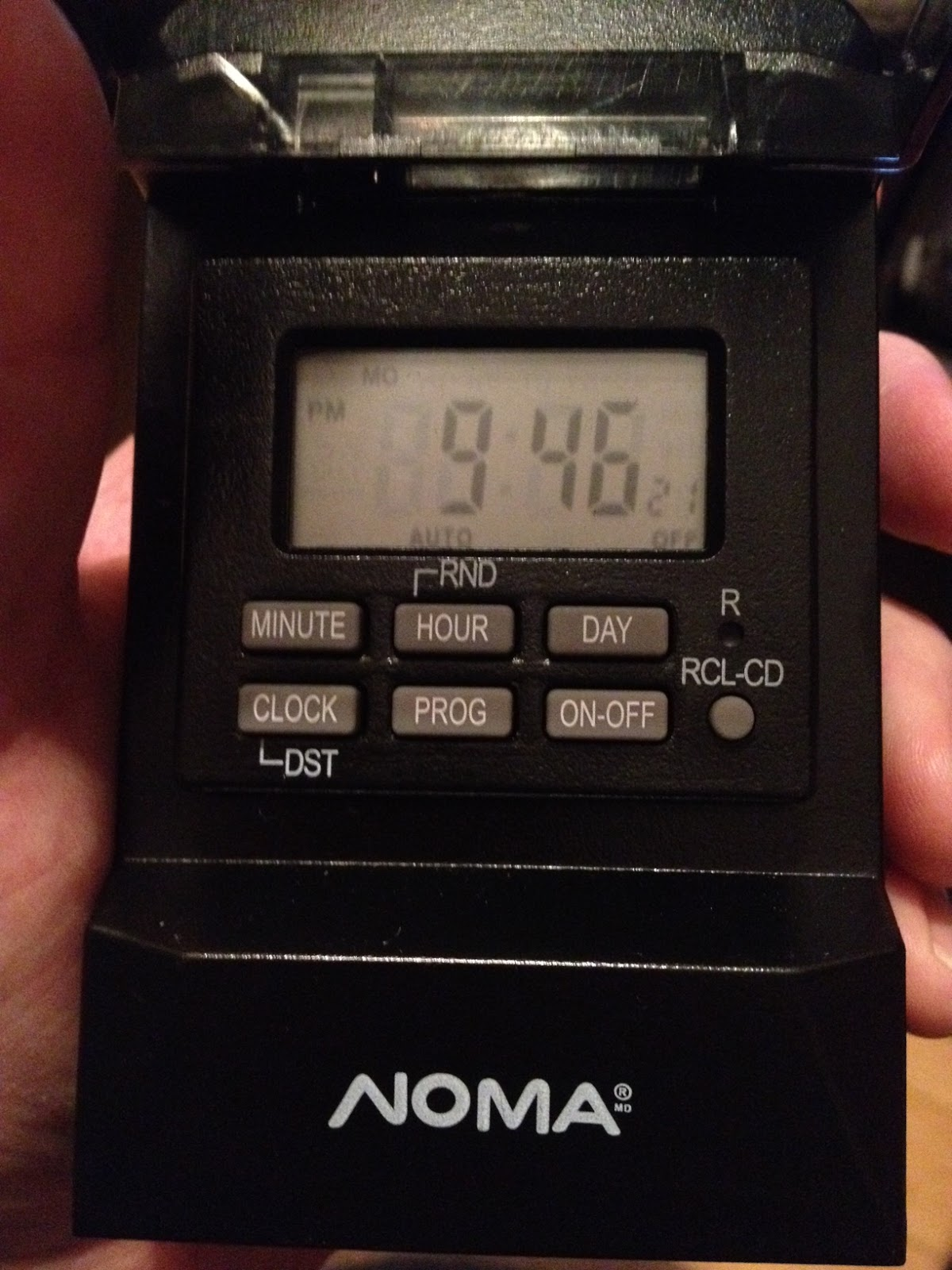How To Program Noma Outdoor Light Timer Outdoor Lighting